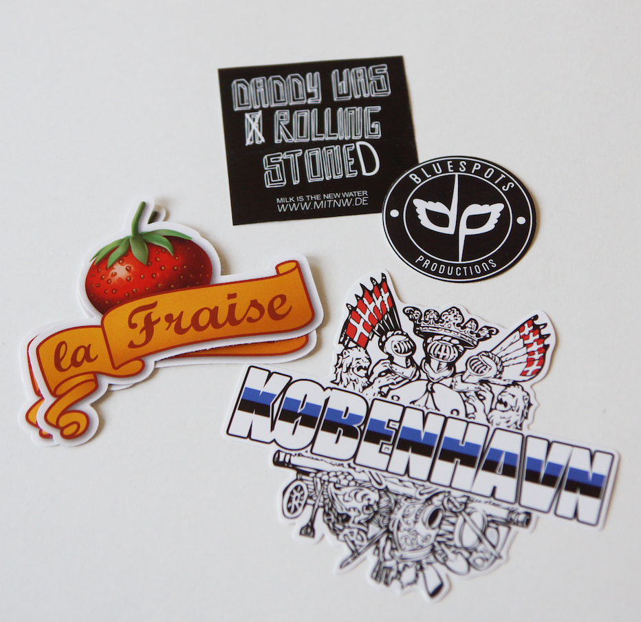 example die-cut stickers